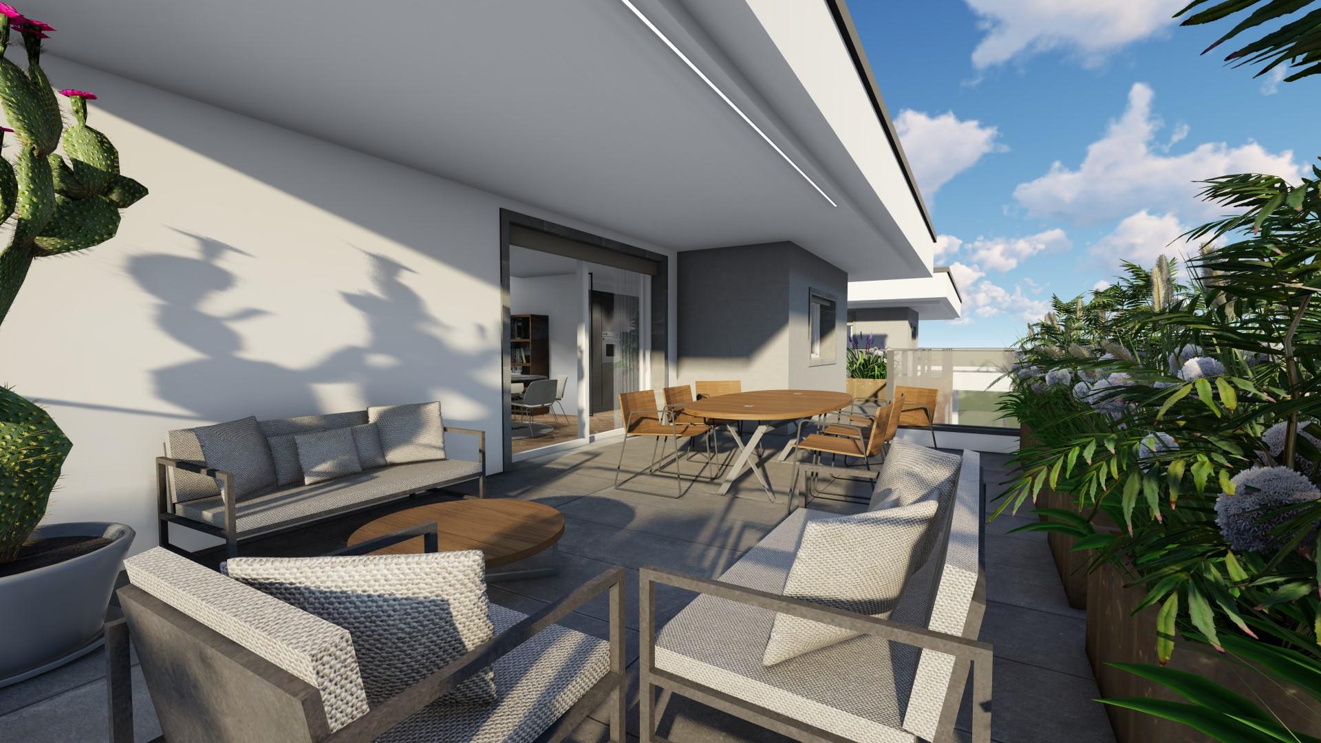 attico in vendita a Treviglio - vista 360°