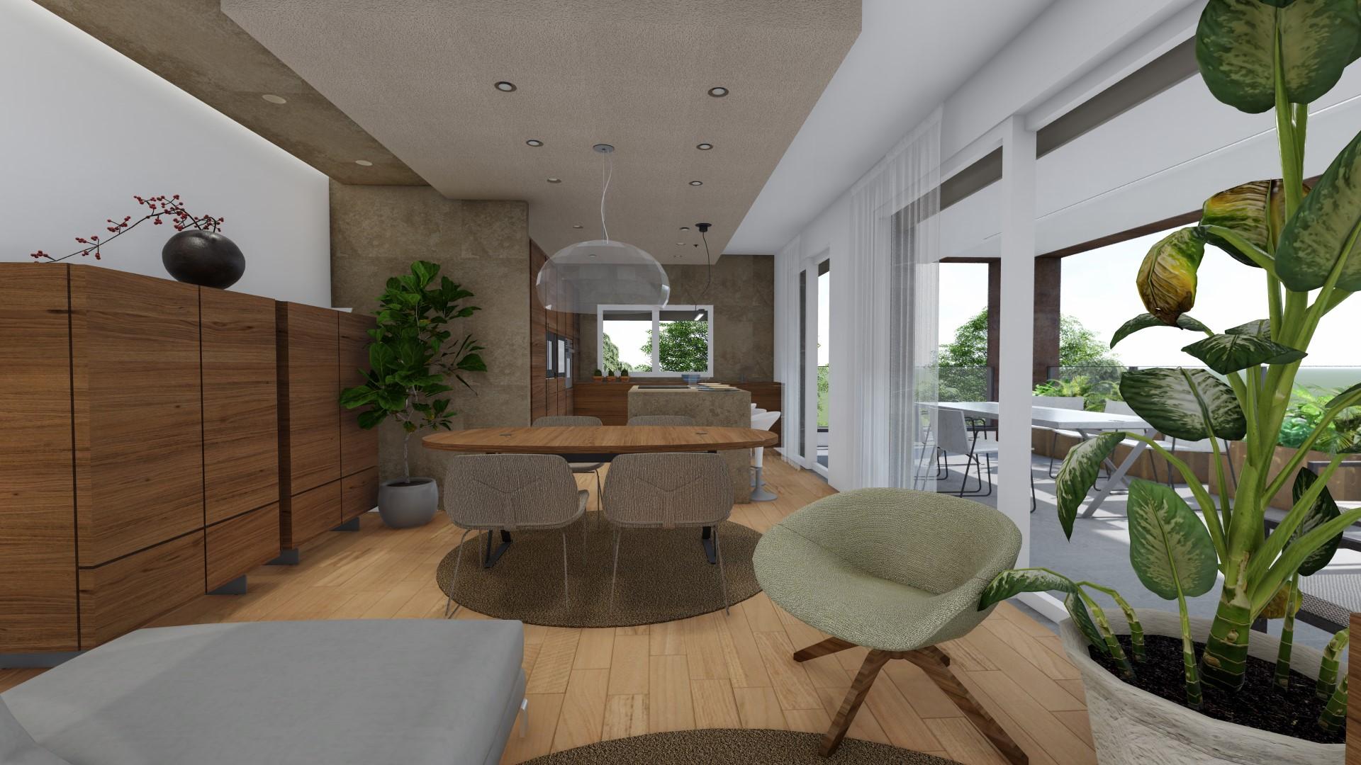appartamenti 4 locali a Treviglio - zona living