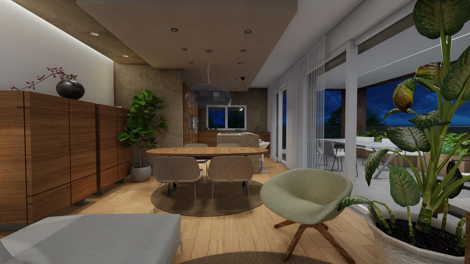 appartamento 4 locali a Treviglio - zona living