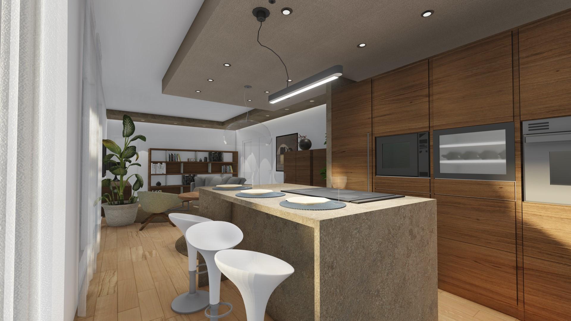 quadrilocale in vendita a Treviglio - cucina abitabile