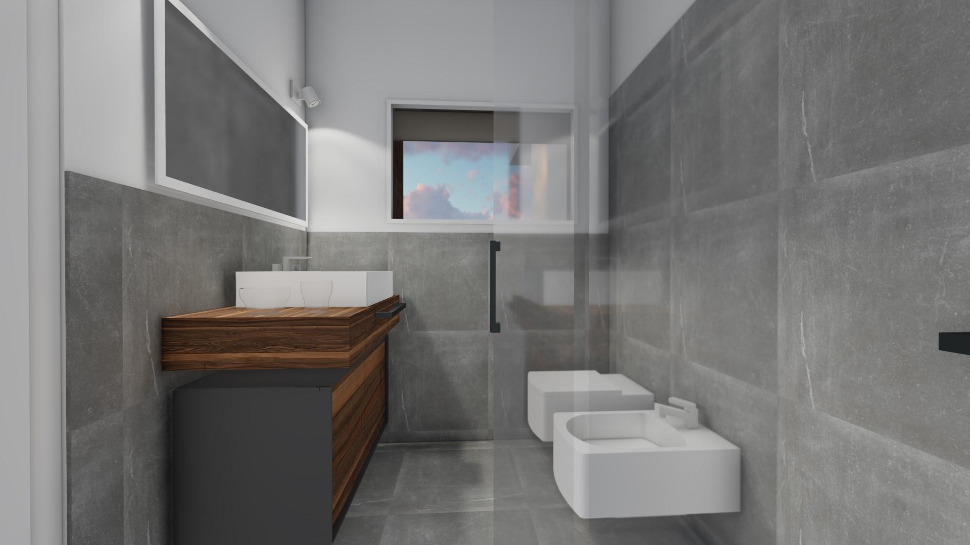 quadrilocali in vendita a Treviglio - zona bagno