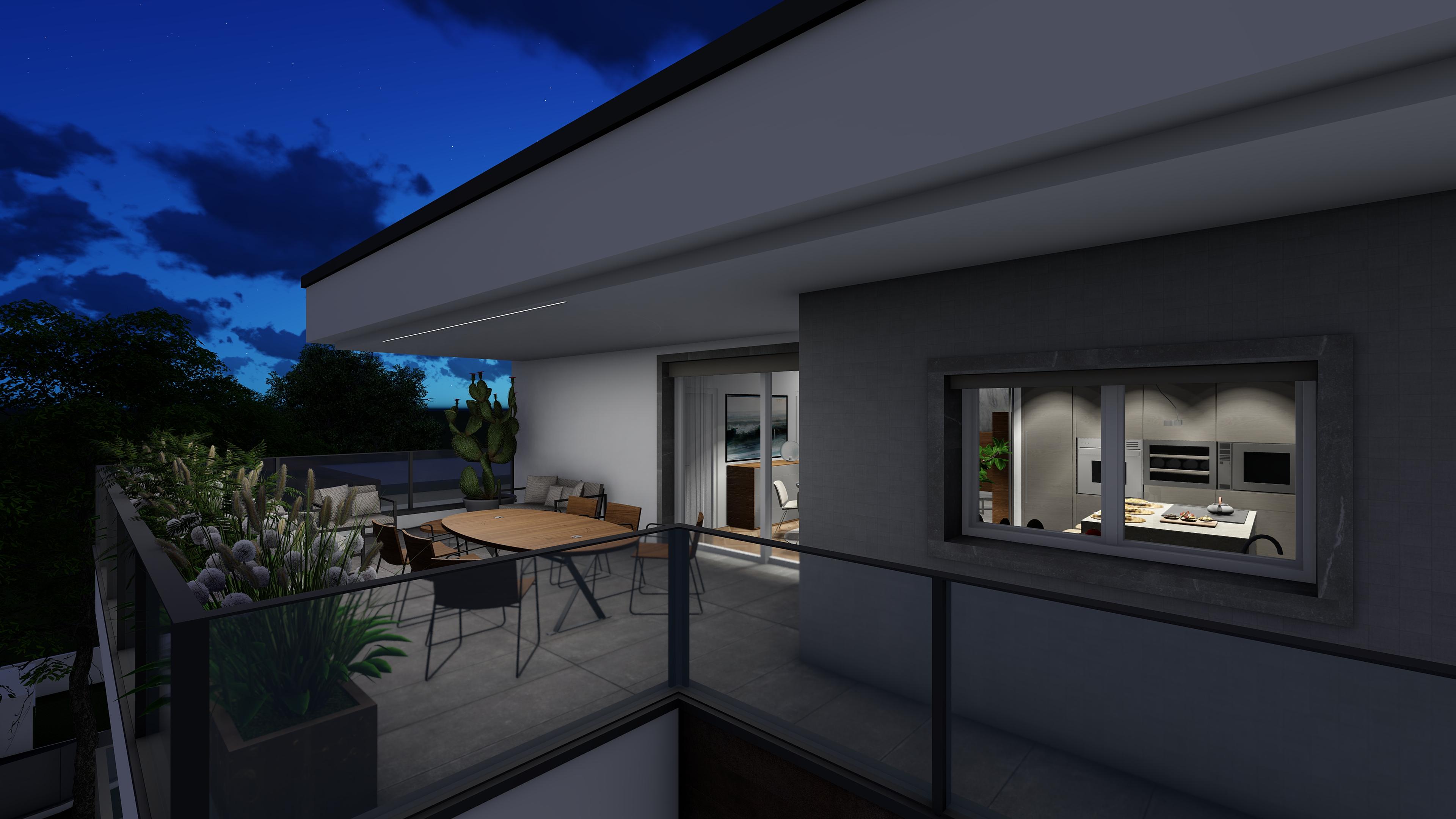 appartamenti in vendita Treviglio - ampio terrazzo