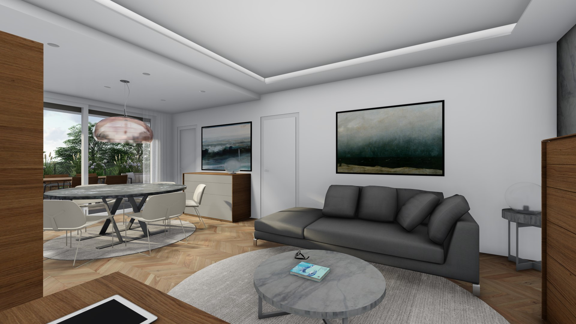 appartamenti in vendita Treviglio - zona living