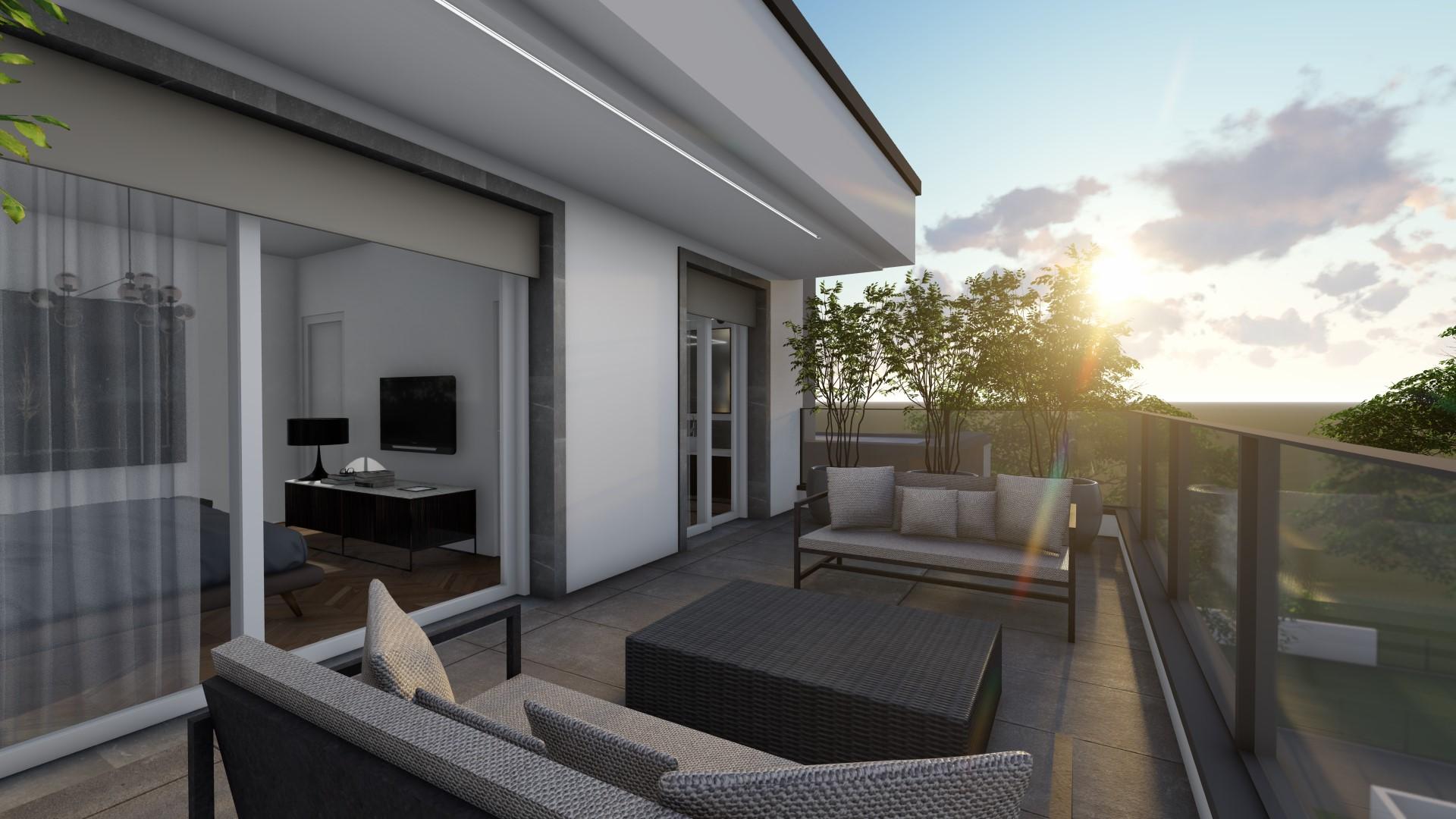 appartamenti in vendita Treviglio - terrazzo