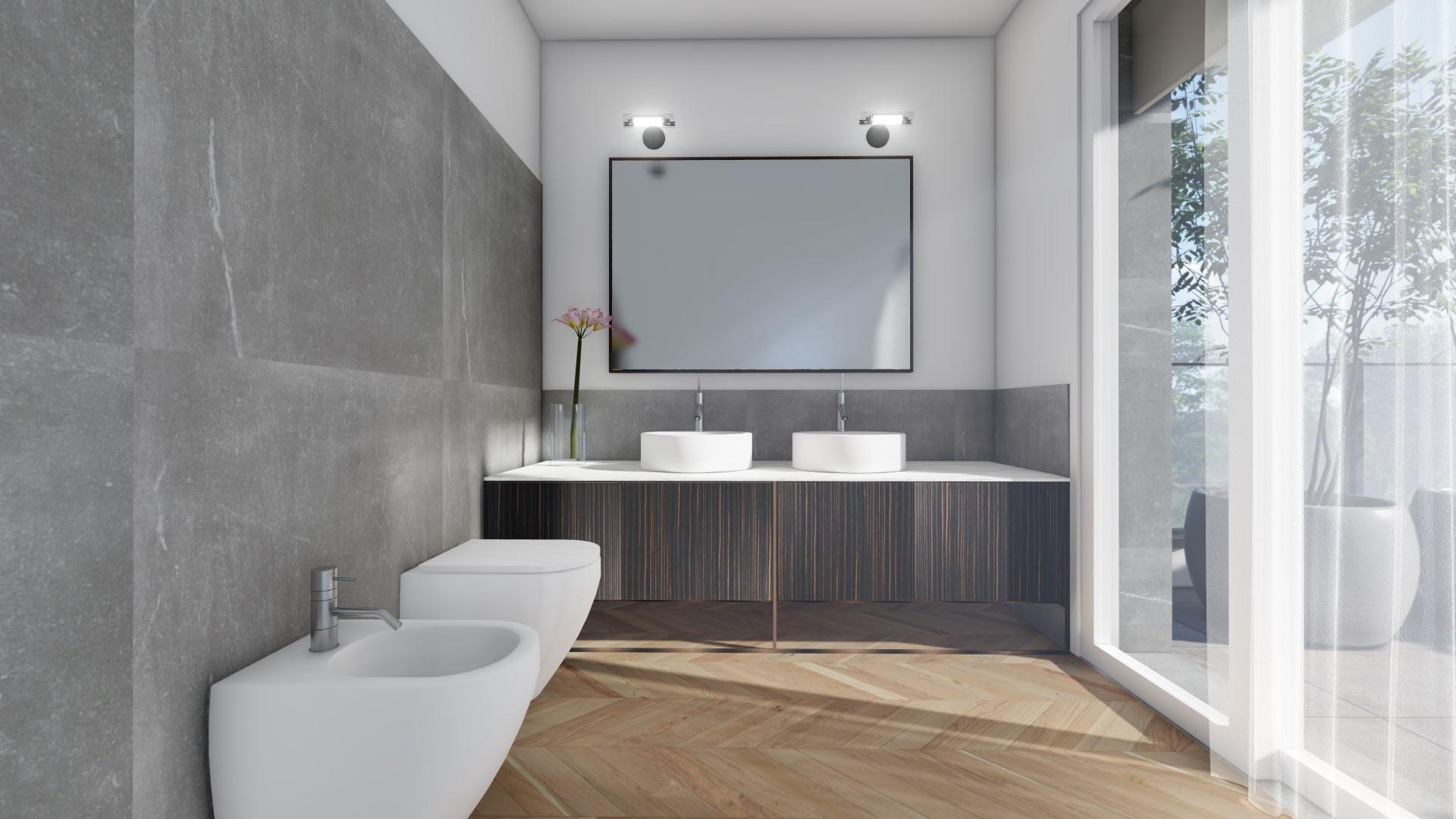 appartamenti in vendita Treviglio - zona bagno