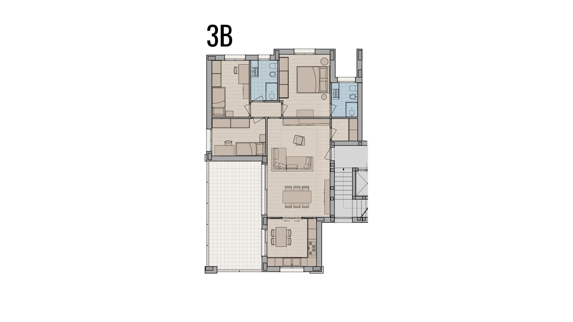 appartamento 4 locali a Treviglio