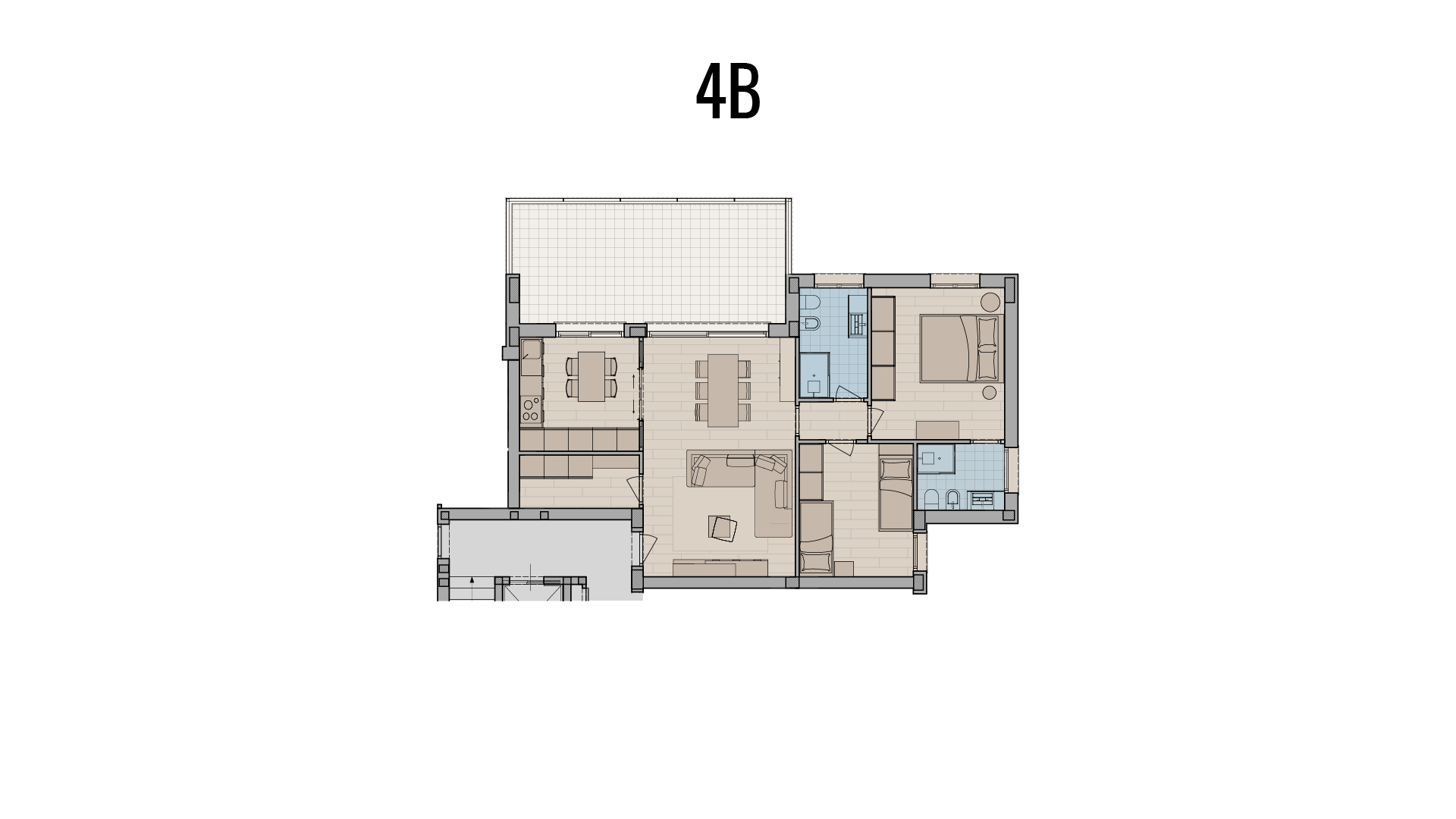 appartamento 3 locali in vendita a Treviglio