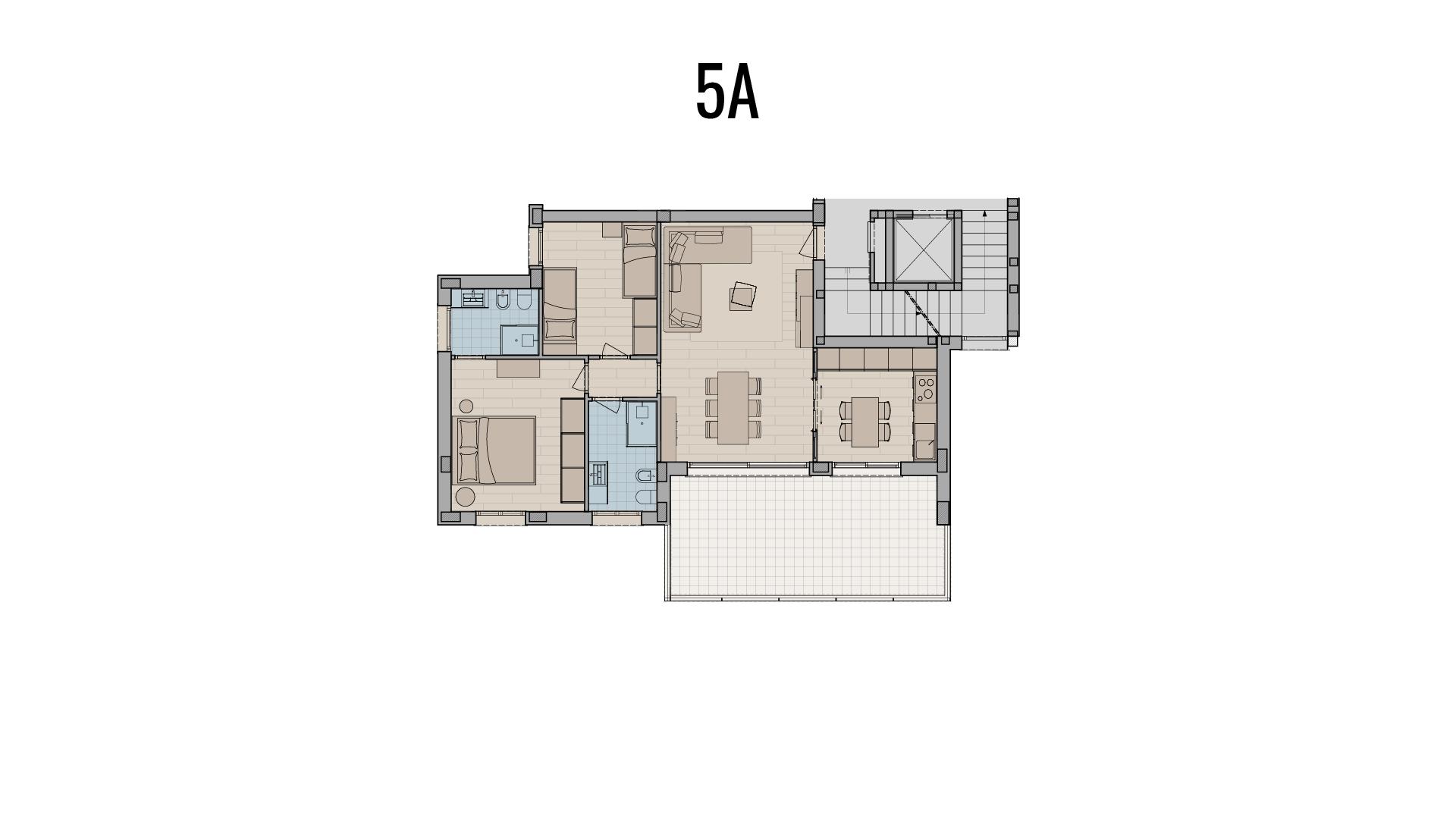 appartamento trilocale in vendita a Treviglio