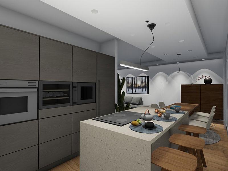trilocale in vendita a Treviglio via pontirolo - cucina abitabile