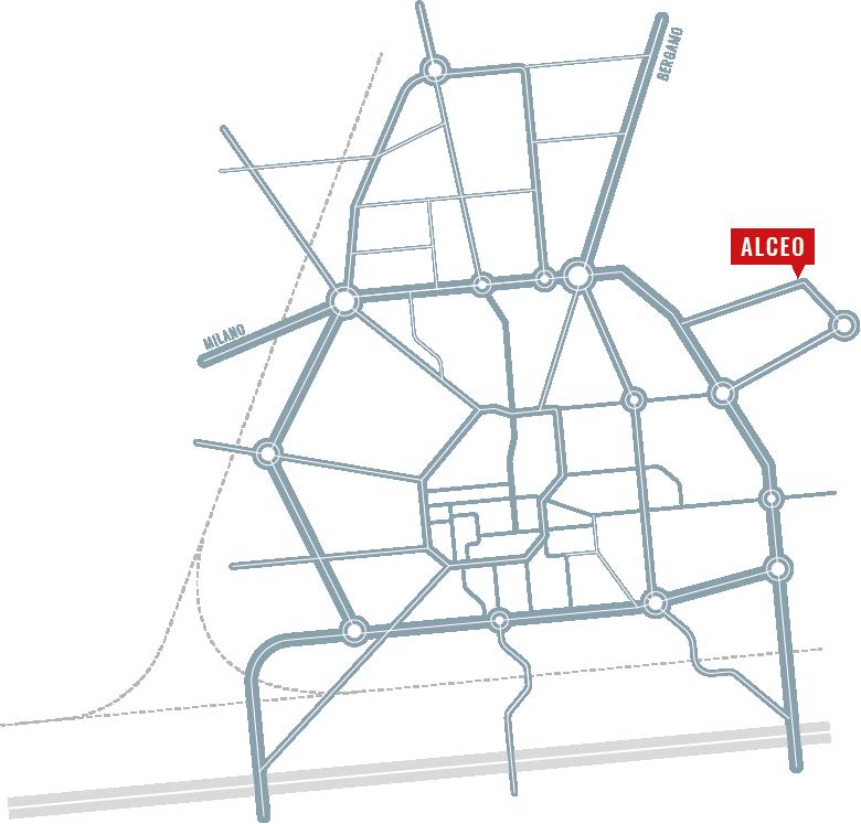 Appartamenti ALCEO Via Bressana, Treviglio BG